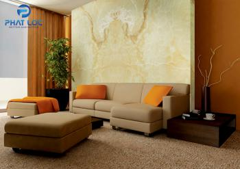 Tấm nhựa PVC vân đá đang là lựa chọn số 1 cho nội thất