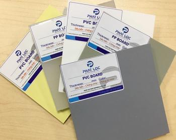 Cung cấp tấm nhựa PVC,PP,PE chất lượng cao toàn miền Nam