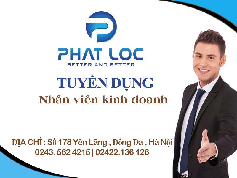 Tuyển nhân viên kinh doanh (Thị trường Quảng Ninh)