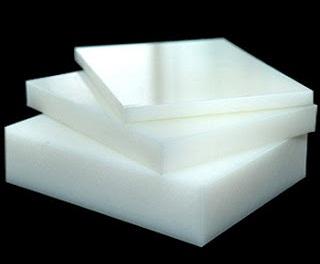 White pp sheet