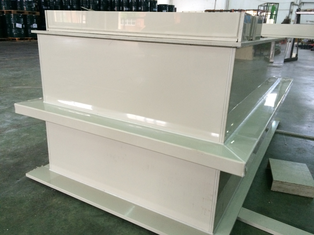 Plastic PP sheet as plated cylinder tanks