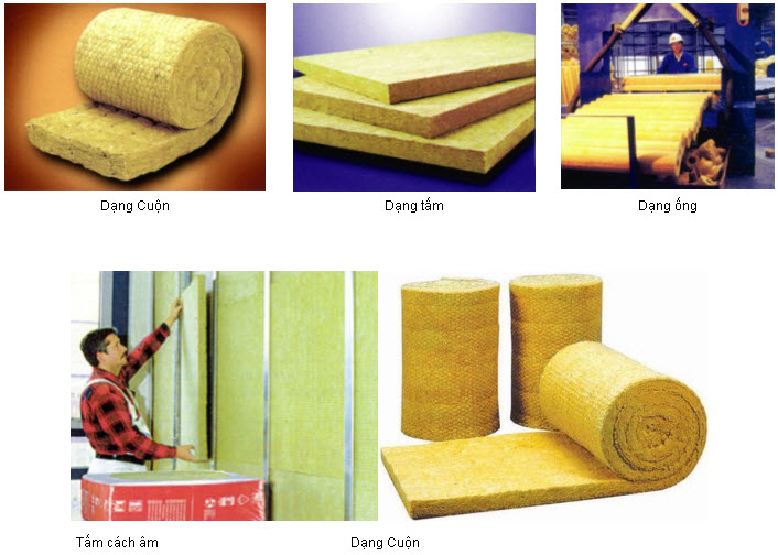 Materials mineral wool