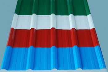 Màu sắc của tấm lợp mái Eurolines