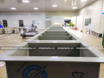 PVC plastic sheet as chemical tanks