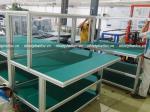 Tấm nhựa PVC làm bàn thao tác nhà xưởng