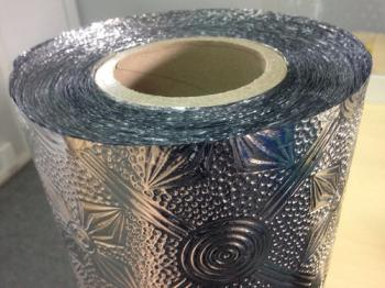 Aluminium foil for insulated roofing system