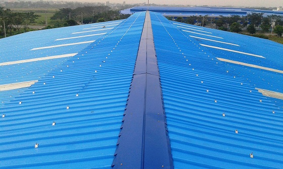 6 waves Eurolines roofing