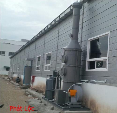 Tấm nhựa PVC làm hệ thống thông hút khí