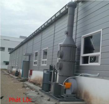 Tấm PVC làm hệ thống thông hút khí