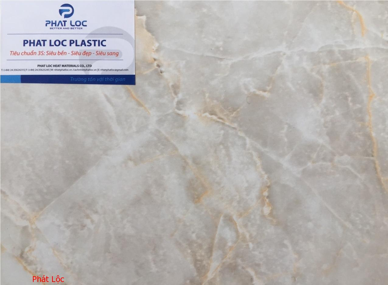 Sản xuất và phân phối tấm PVC vân đá PL 8613